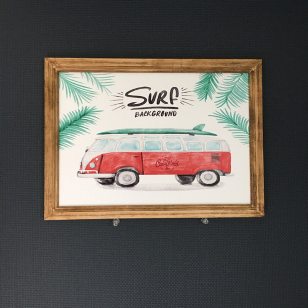 California surfポスター