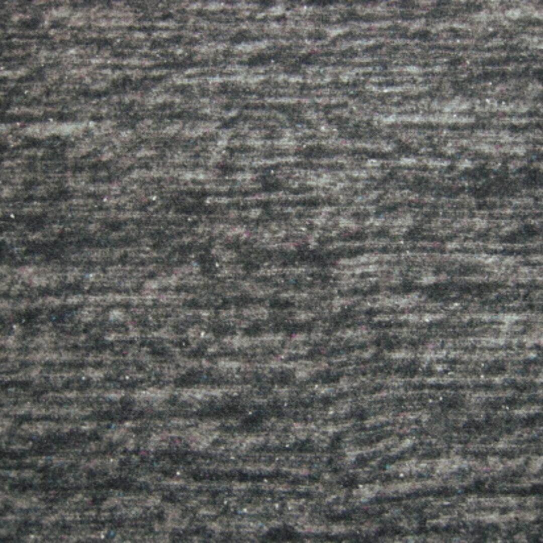 ネップ入りウールニット チャコールグレー【イタリア製】K213