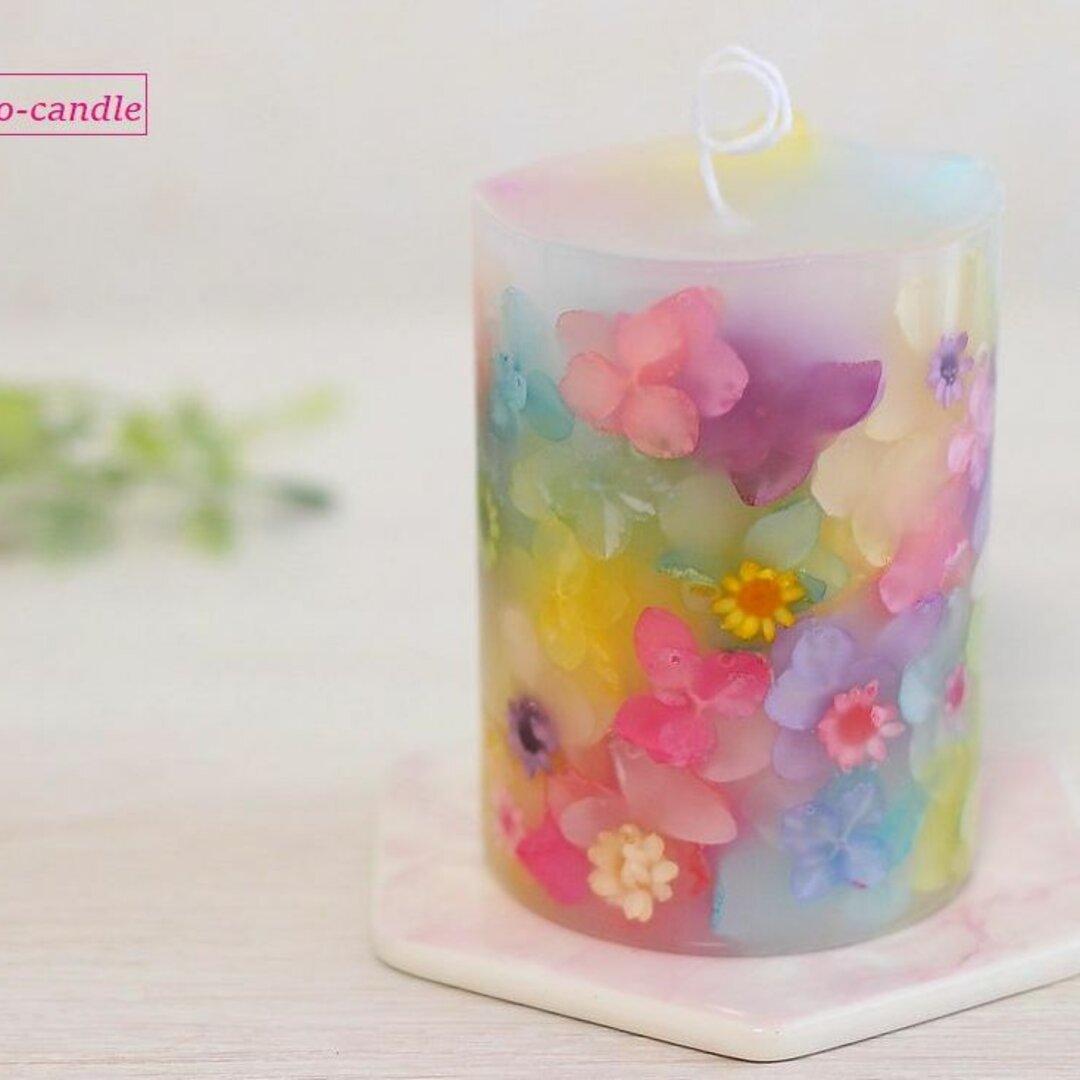 【人気№2】フラワーキャンドル(ゆめいろ)春色・誕生日・結婚祝い・母の日ギフト