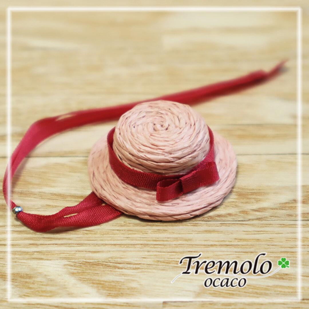 miniカンカン帽子/Pink