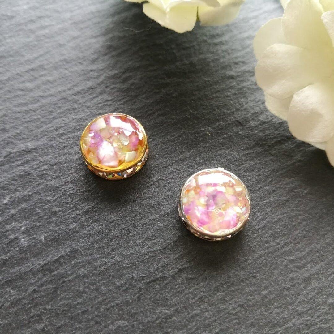 274.Round earring(レンゲ)