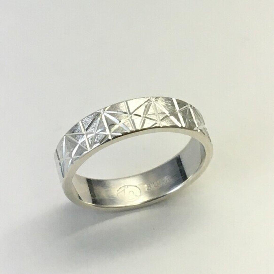 No150 麻の葉模様の指輪3