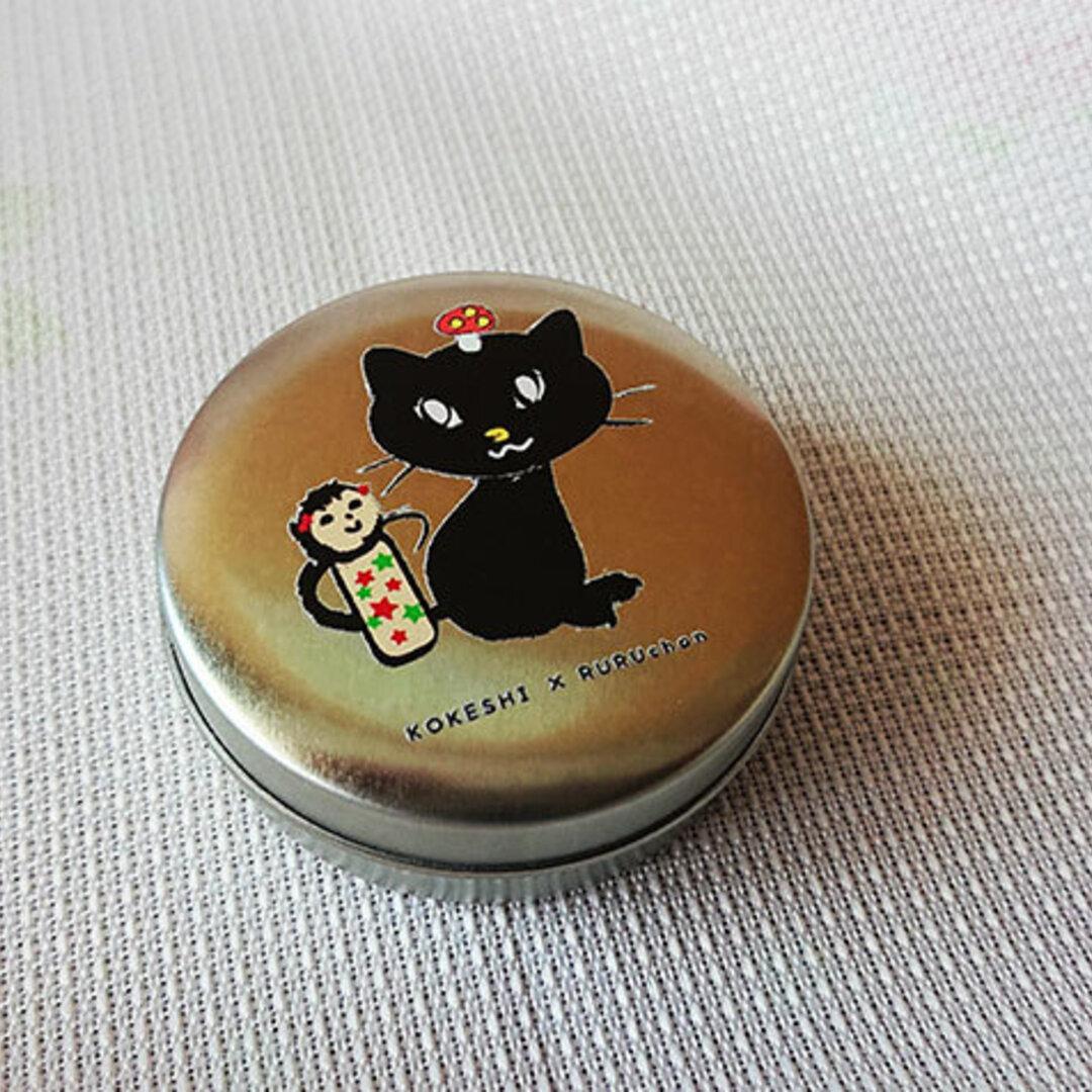 黒猫ルルちゃんの缶ケース