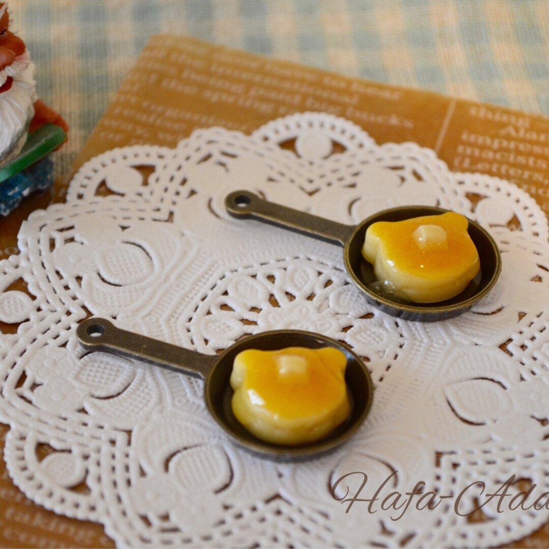 【受注製作】とろーりメープルシロップのKumaパンケーキ