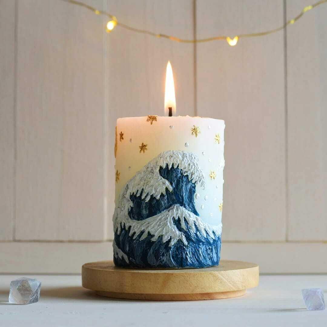 浮世絵コラボ『波』