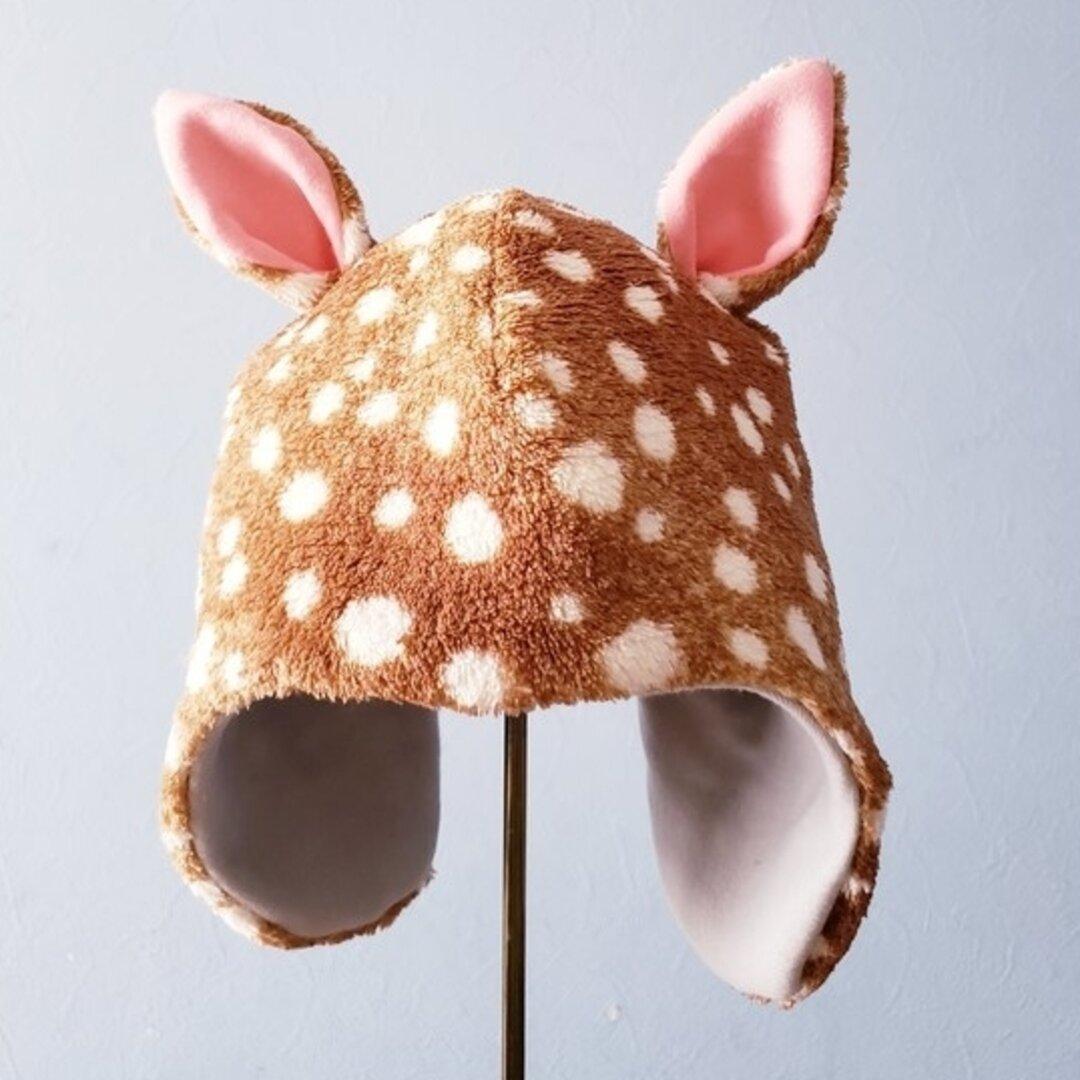 子バンビ帽子▲ 50size・目安2歳