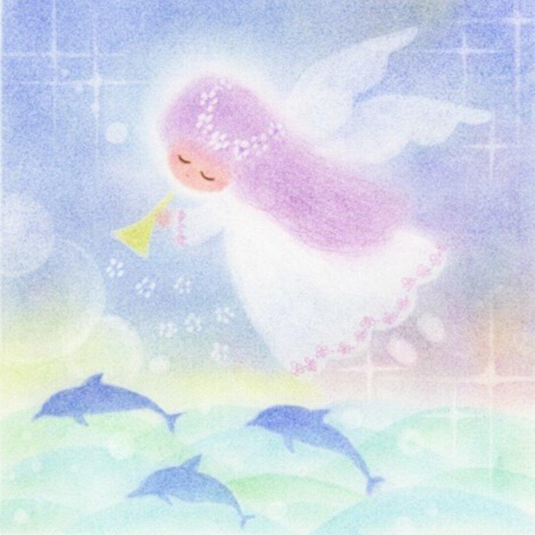 ゆるカワ天使 No.05(はがき2枚セット)