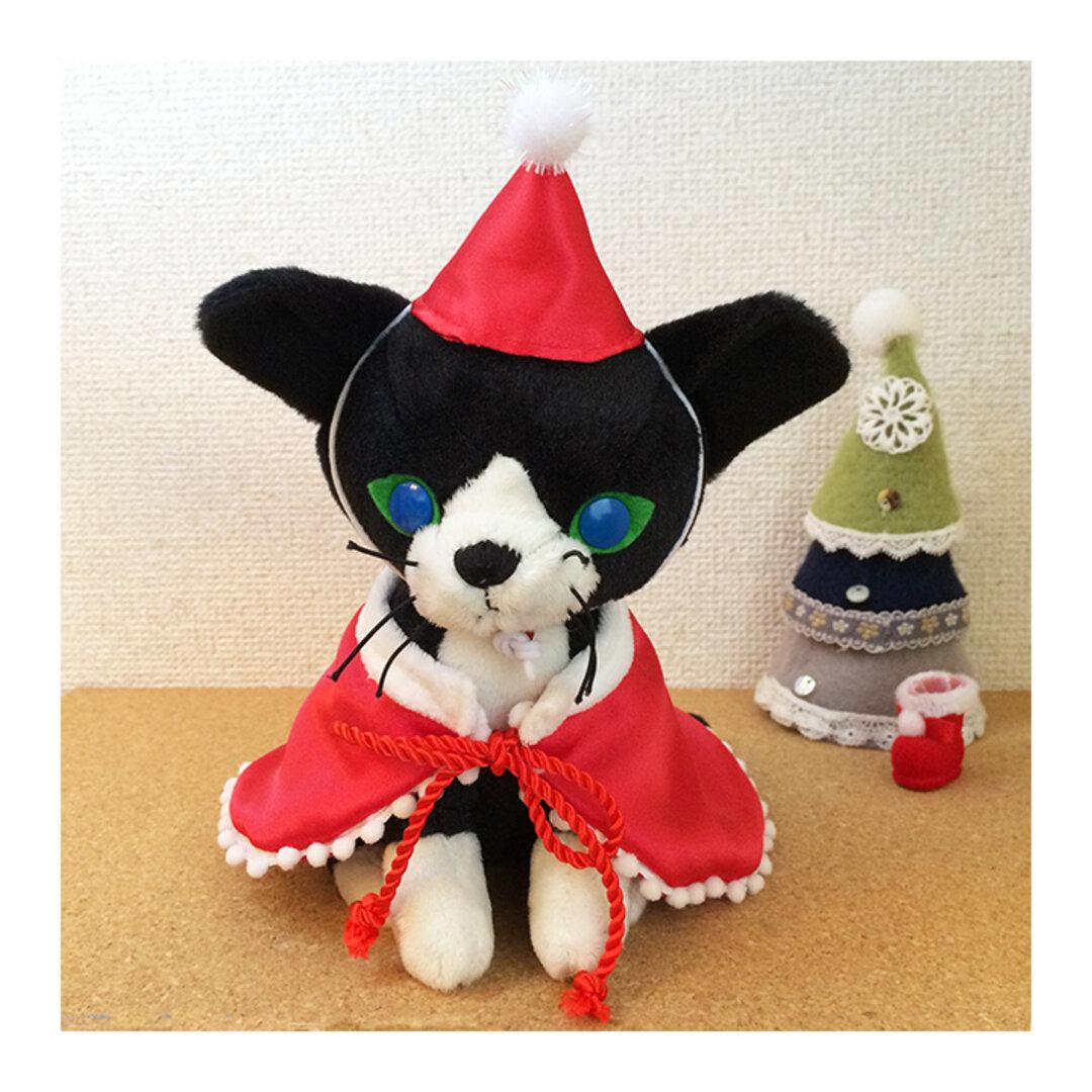★1点限り★猫用★クリスマスコスプレセット
