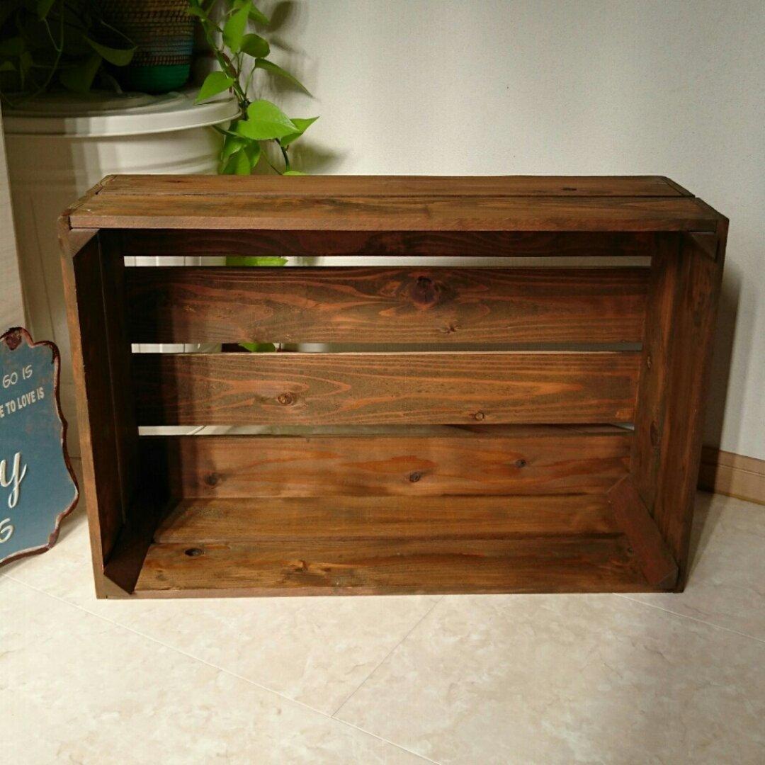 木箱 L フリーボックス ディスプレイ棚 シェルフ