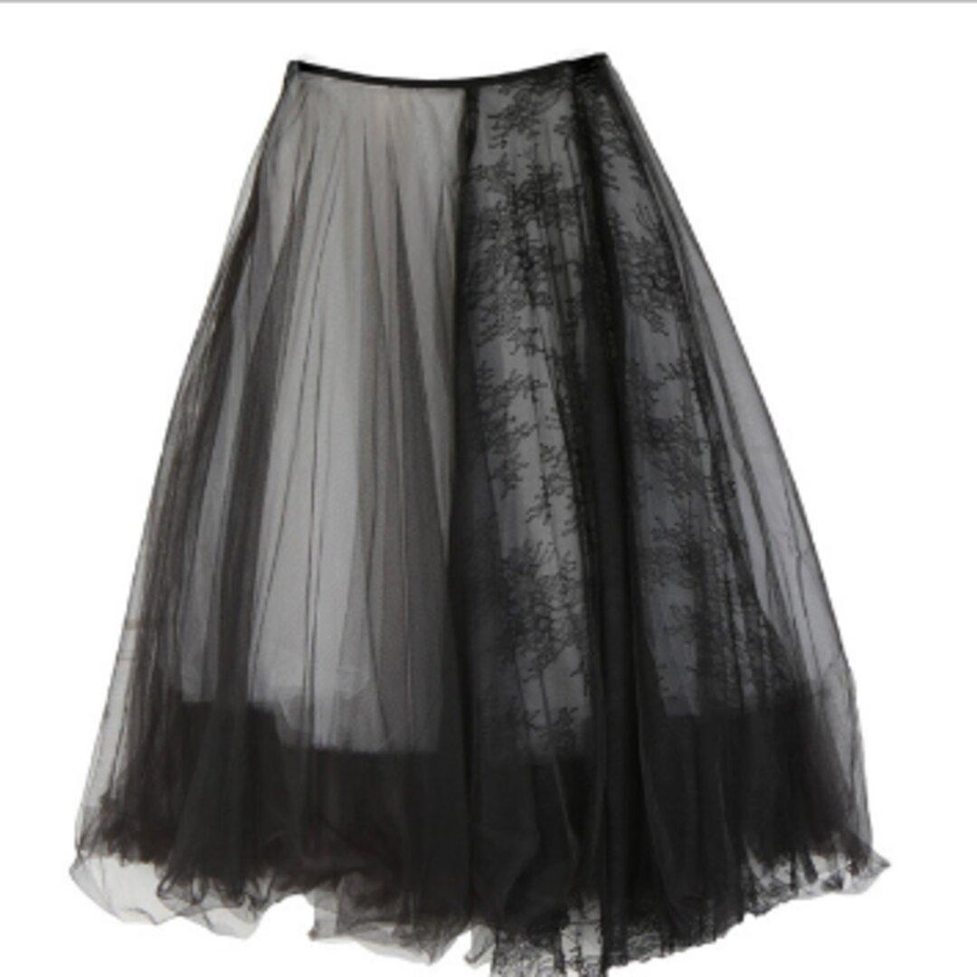 人気のオリジナルニッチデザイン,五層の黒と白のメッシュスカートふわふわスカートの妖精のスカートをステッチダーク黒高のウエ