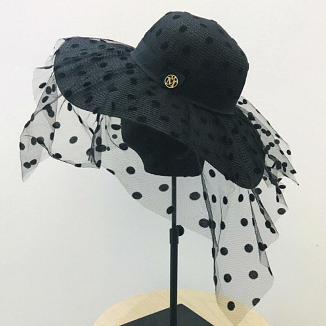 帽子☀ハット 夏のお出かけ レディース アウトドア 夏帽子 夏 ハンドメイド ストローハット 日よけ帽子