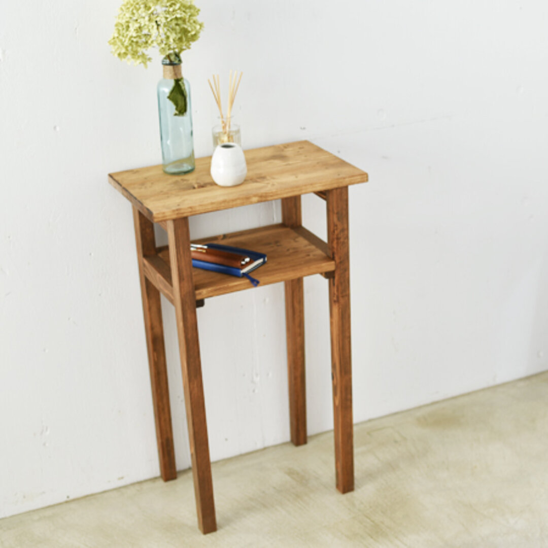 小さなデスク 花台やサイドテーブルに♪