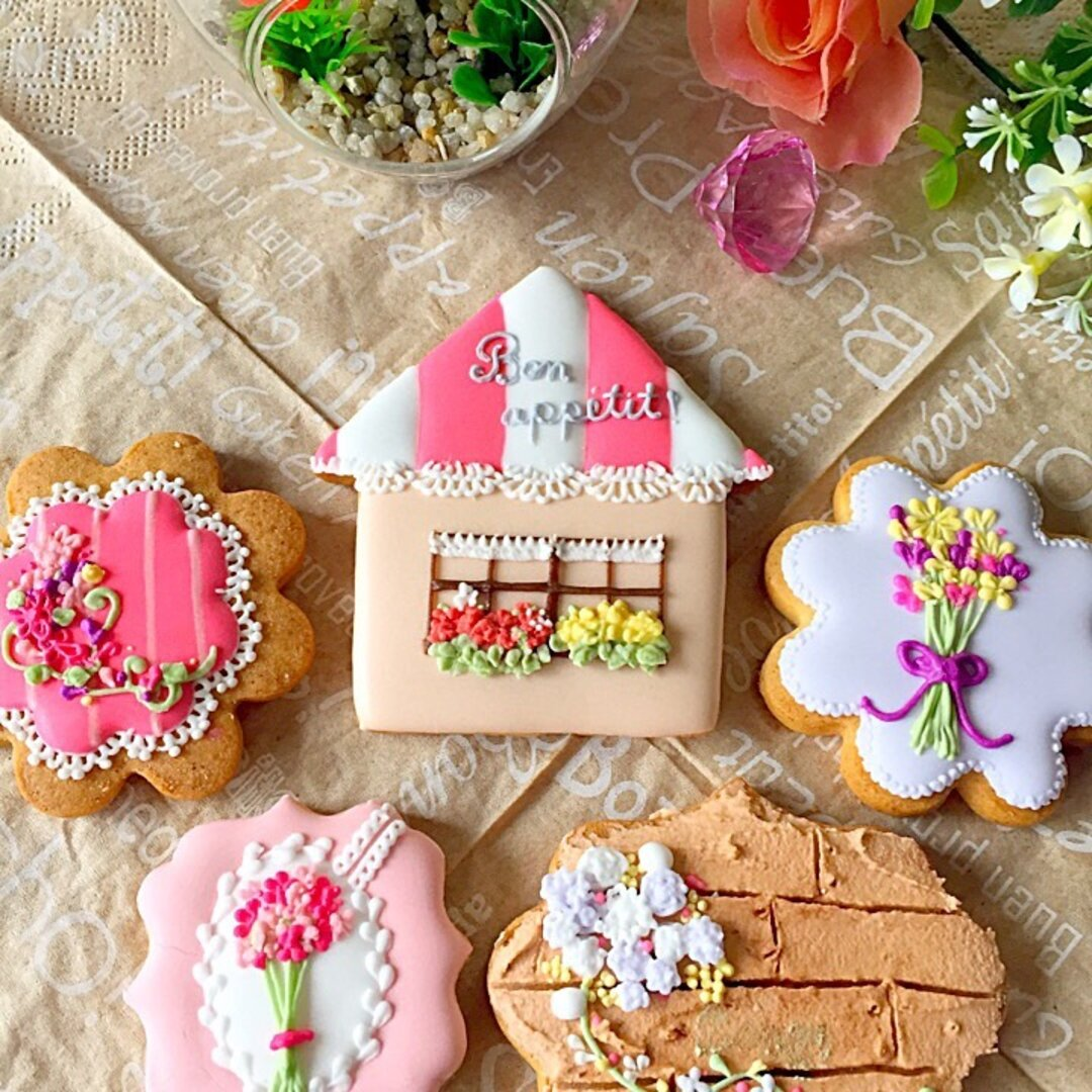 【flower&house】アイシングクッキー!