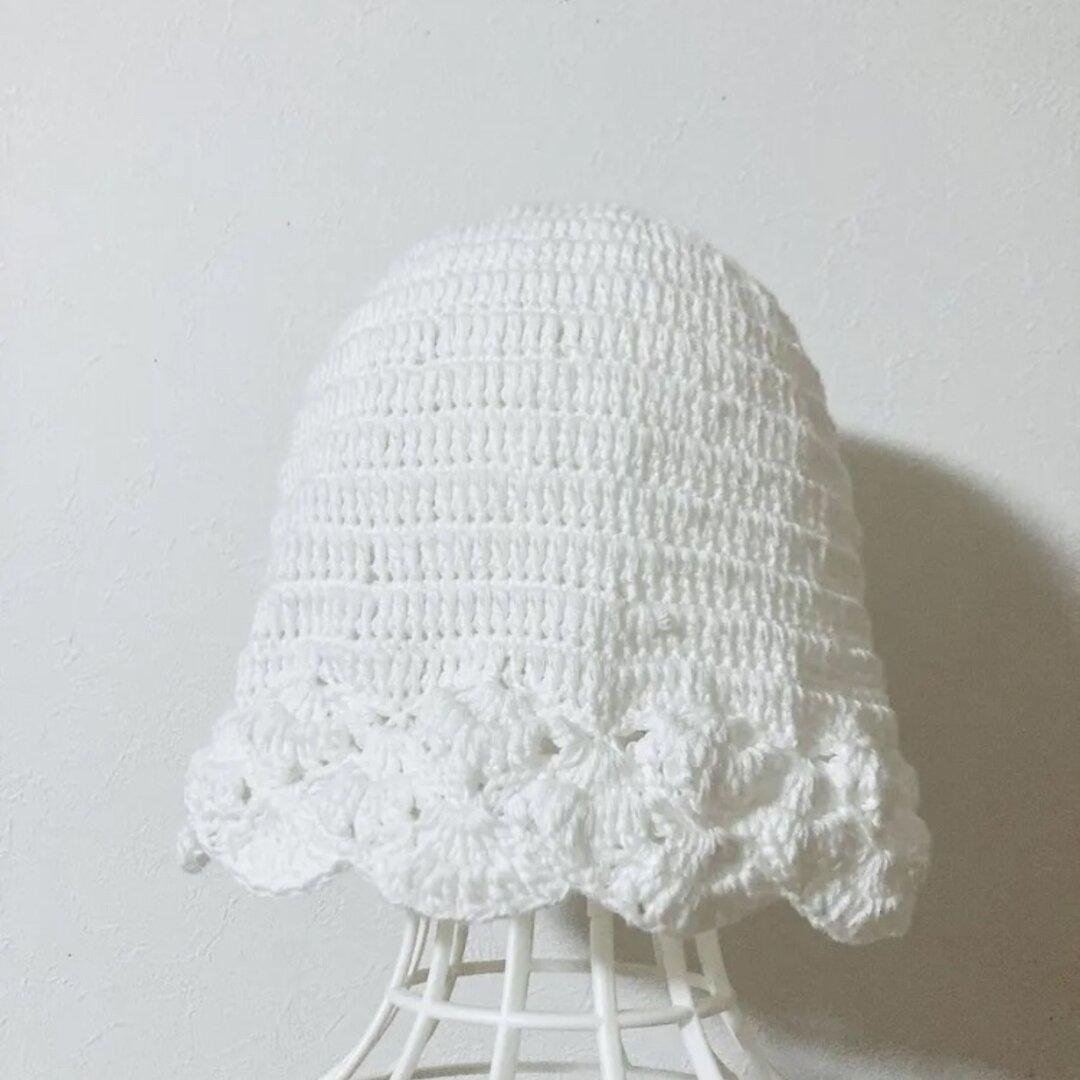 UVカットコットンのお帽子