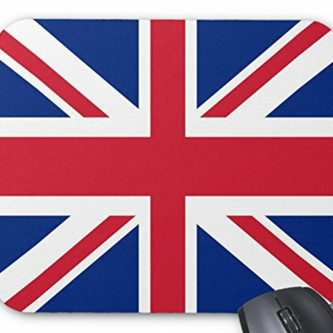 イギリス国旗、ユニオンジャックのマウスパッド :フォトパッド( 世界の国旗、軍旗シリーズ ) (C)