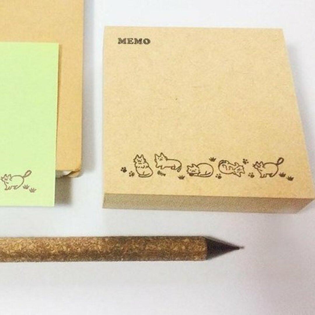 ごゆるりねこ 可愛いふせんが量産できる♡ ポストイットの大きさの付箋用ハンコ 電話伝言メモスタンプ No.2