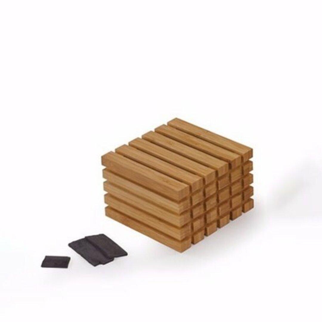 竹素材の消臭ボックス(竹炭付き)【一点ずつ手仕上げ】