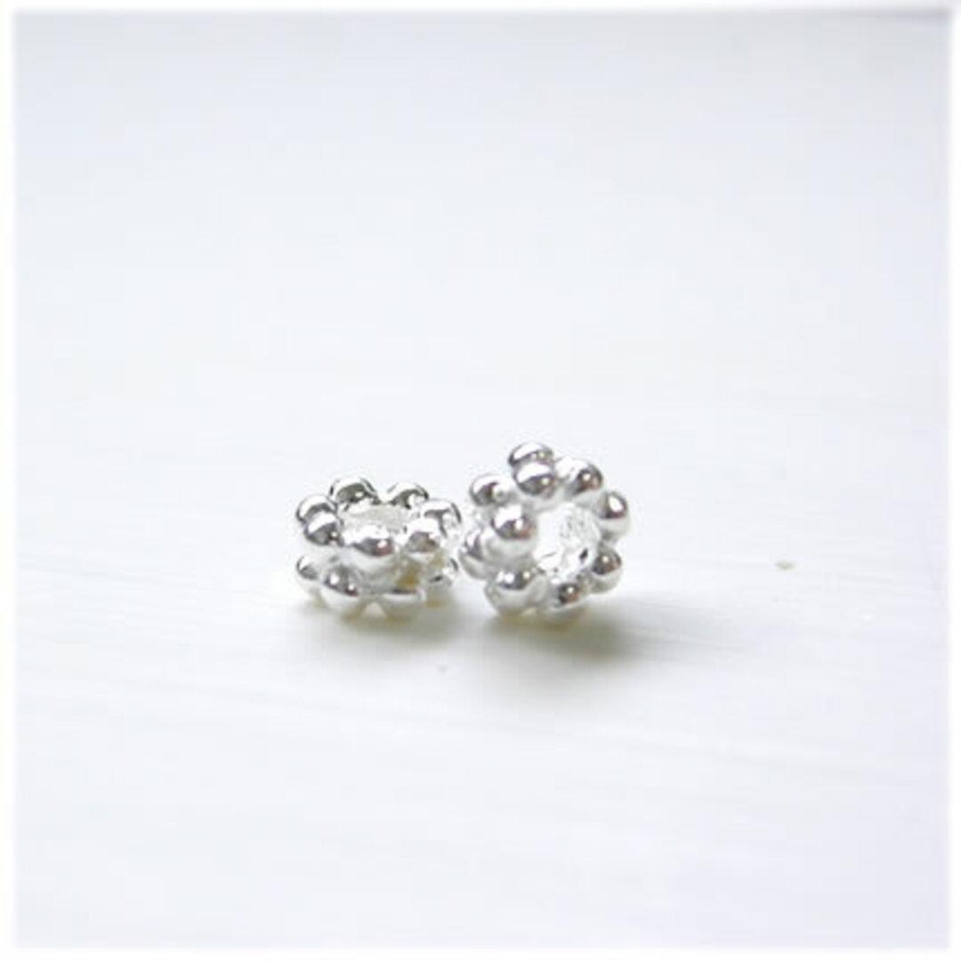 【4個セット】Silver925 シルバーパーツ05