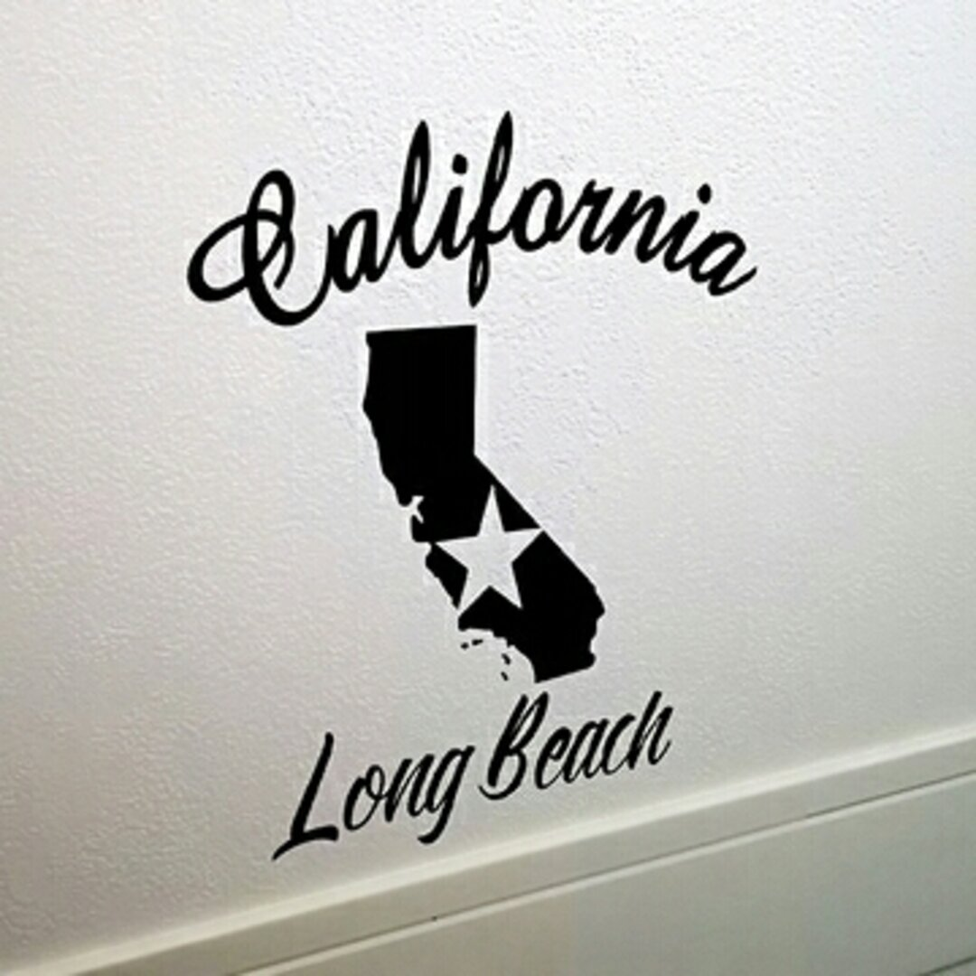 カリフォルニア★ロングビーチ★ウォールステッカー