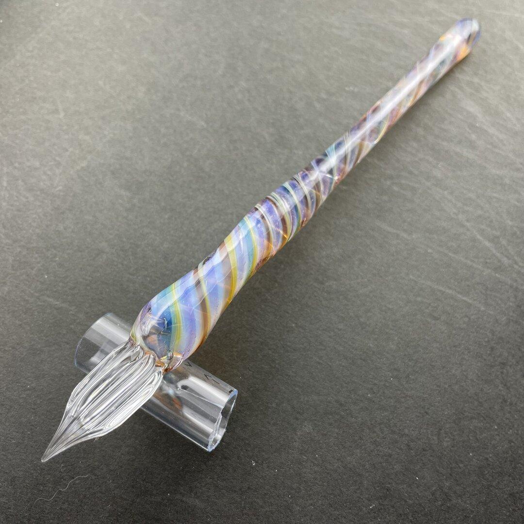 透明ニュアンスのガラスペン(13)