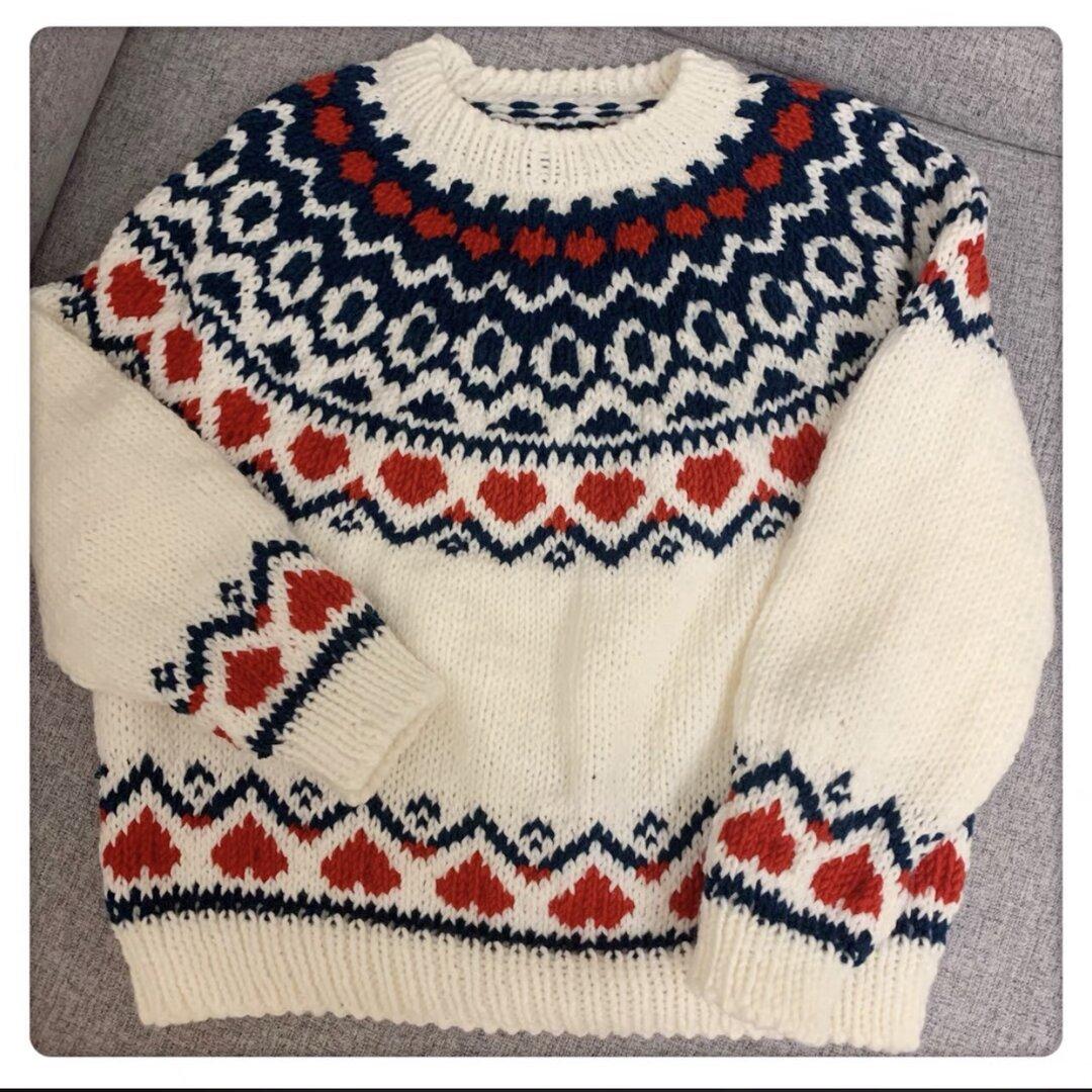 受注制作・手編みセーター