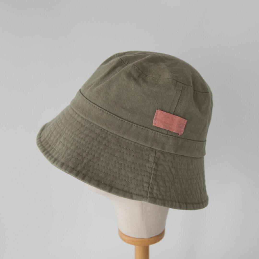 ◇ 全6色 ◇ 夏の日よけ帽 カジュアル 帽子  日差し対策 コットン ユニセックス UVカット ナチュラル  つば広  バケットハット シンプル