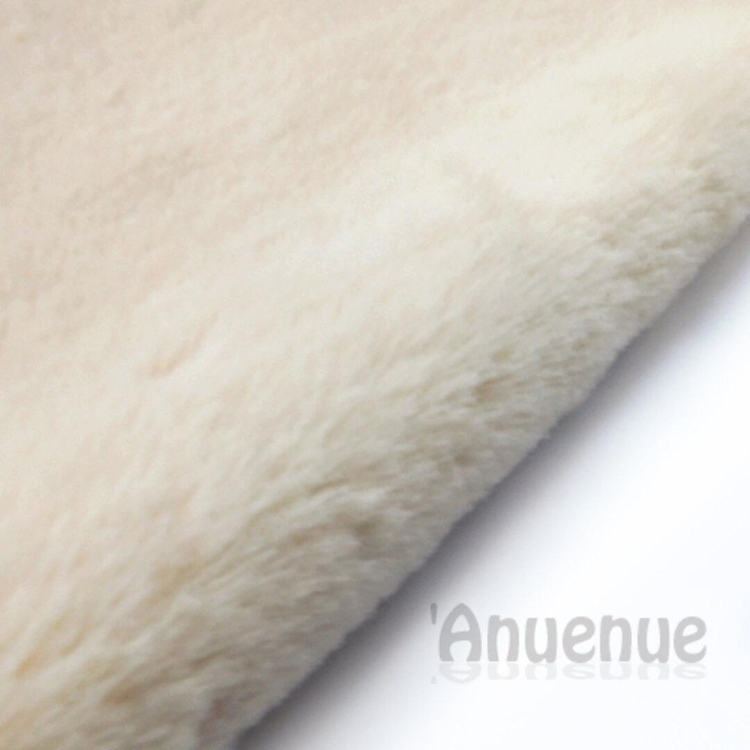 ラビットエコファー 生地( Cream beige / クリームベージュ)A4