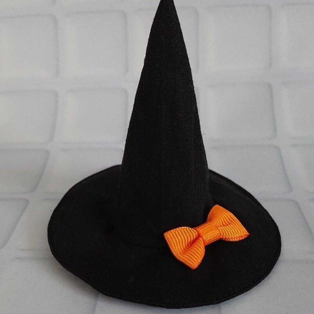 ドール用 魔女の帽子 オレンジリボン リカちゃん ハロウィン