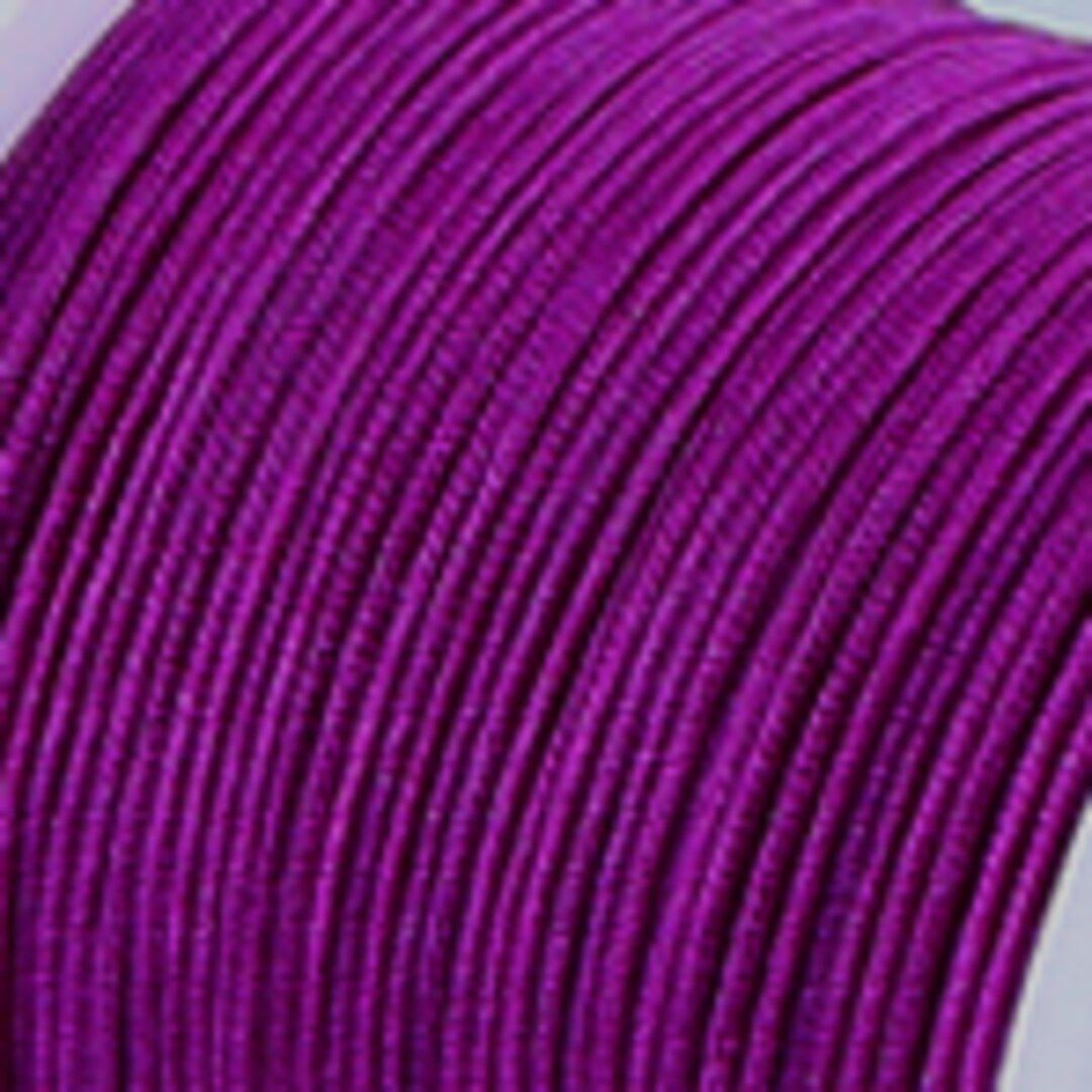 【紫紺】P008:中国結び用紐0.5mm (台湾AB線・72号)22メートル単位売
