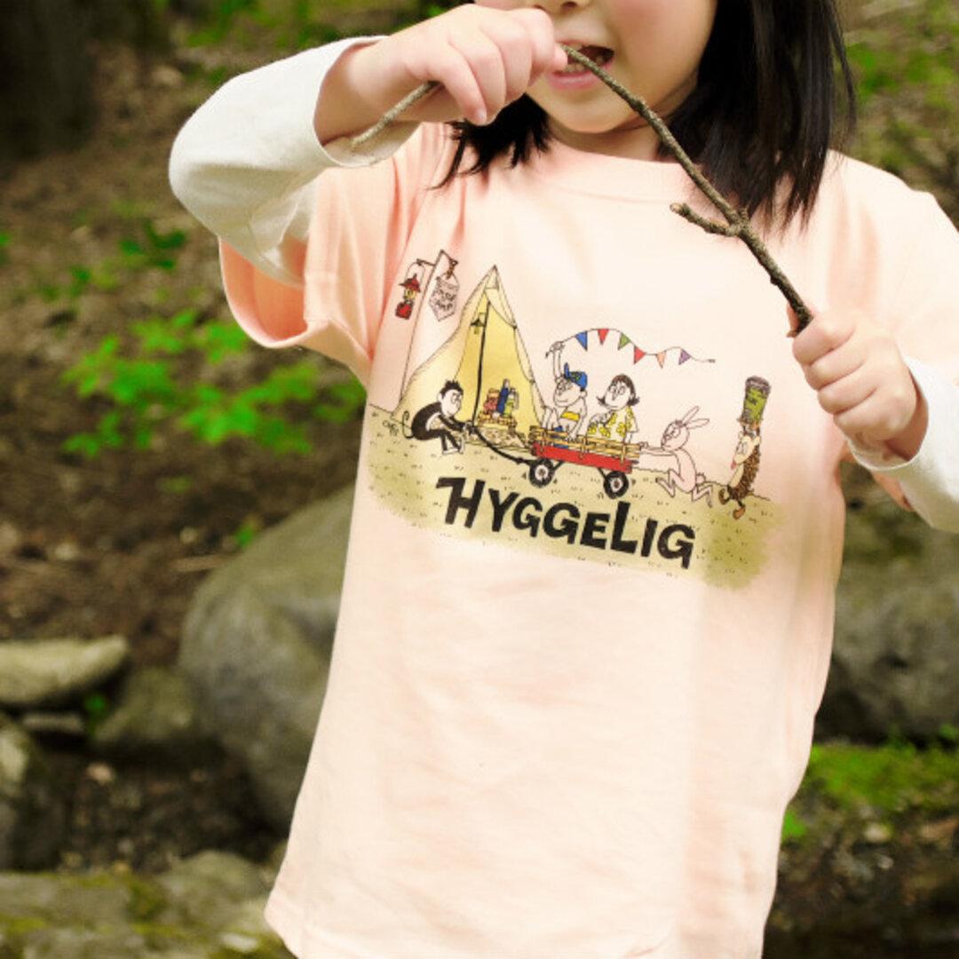 HYGGELIG × ONO5s ソトアソビ アウトドア Tシャツ キャンプ 焚き火 釣り H501