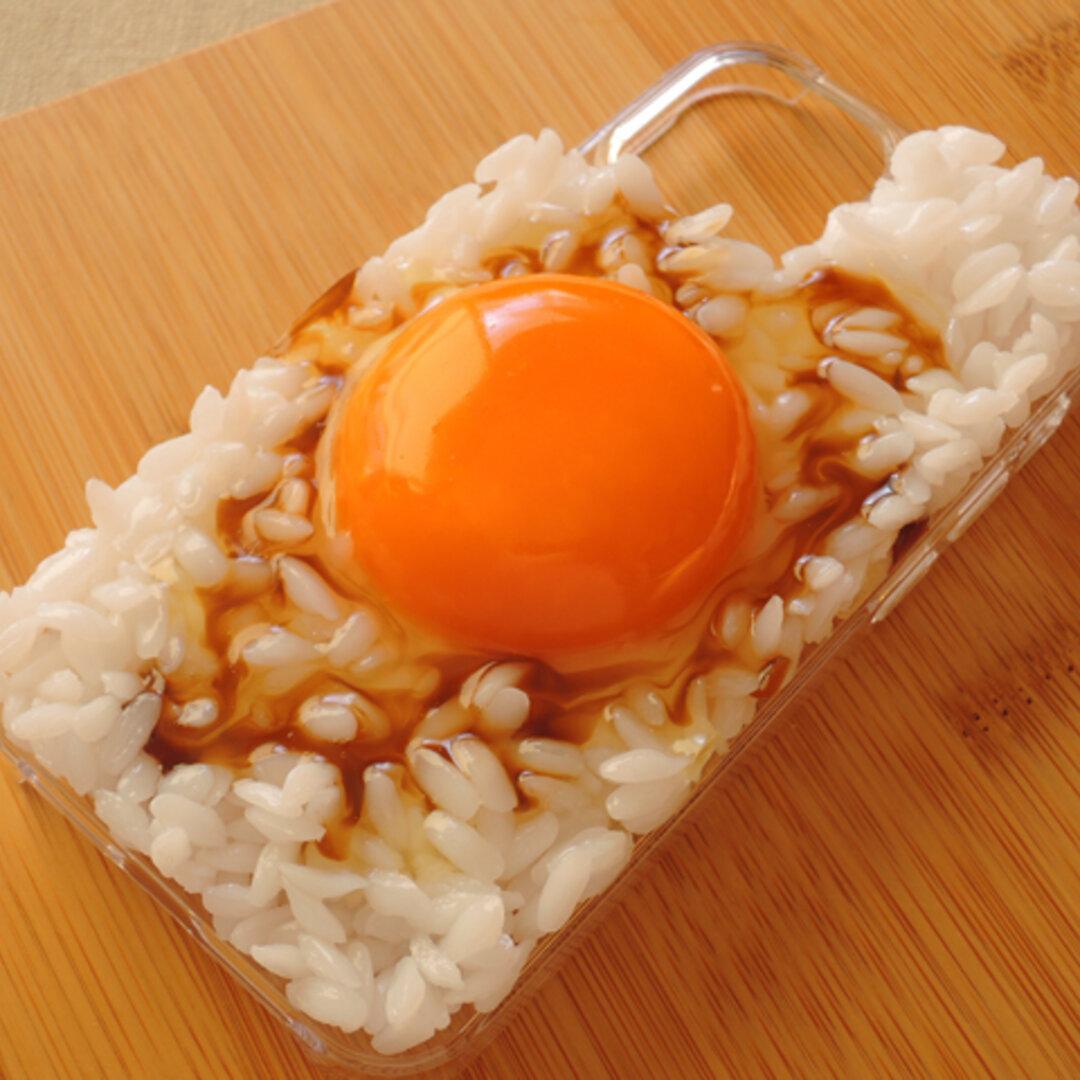 【送料無料】食品サンプル 卵かけご飯 iPhone12/12Pro ケース
