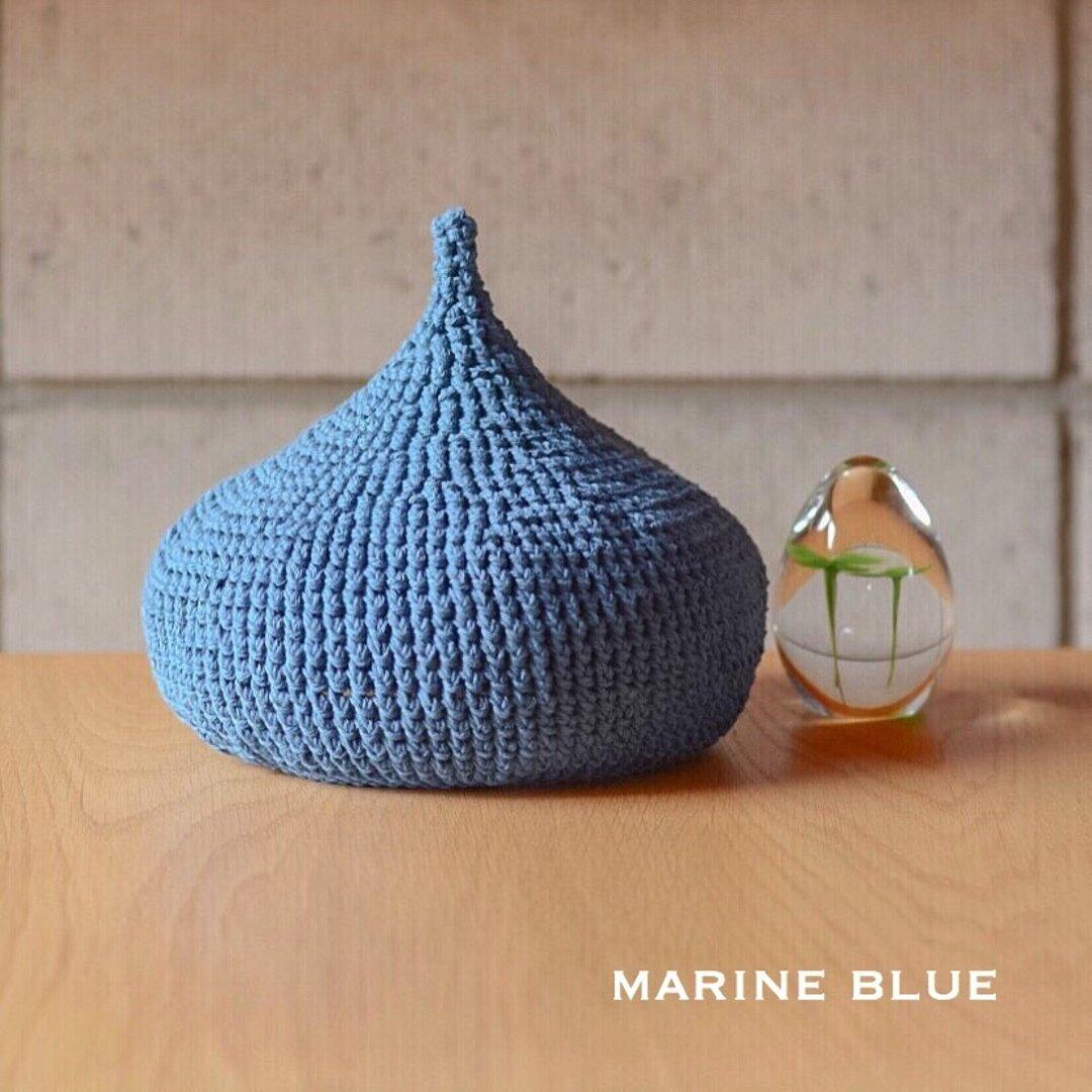 コットンどんぐり帽子♡ (marine blue)