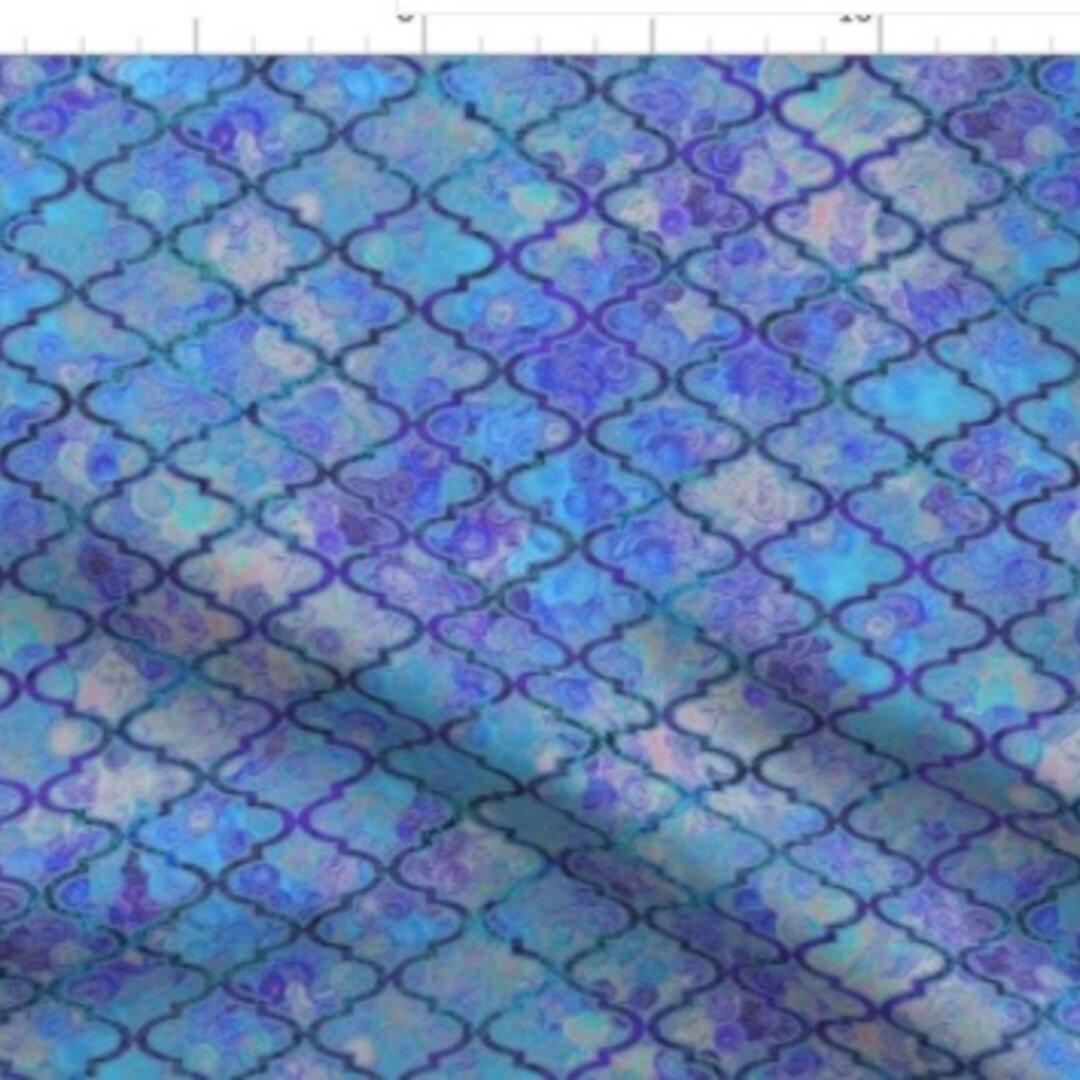 輸入生地 生地 モロッカン 印象派のクリムト様式 クリムト 名画 モロッコ モロッコ柄 ハンドメイド 素材 綿 布 おしゃれな生地