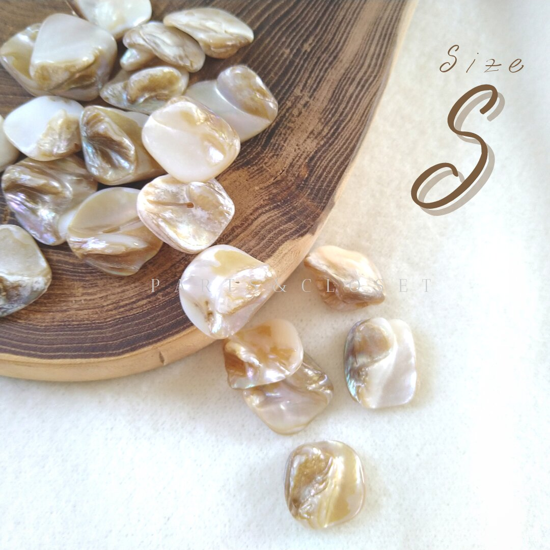 :8pcs:import  shell beads 〈S〉シェル マザーオブパール