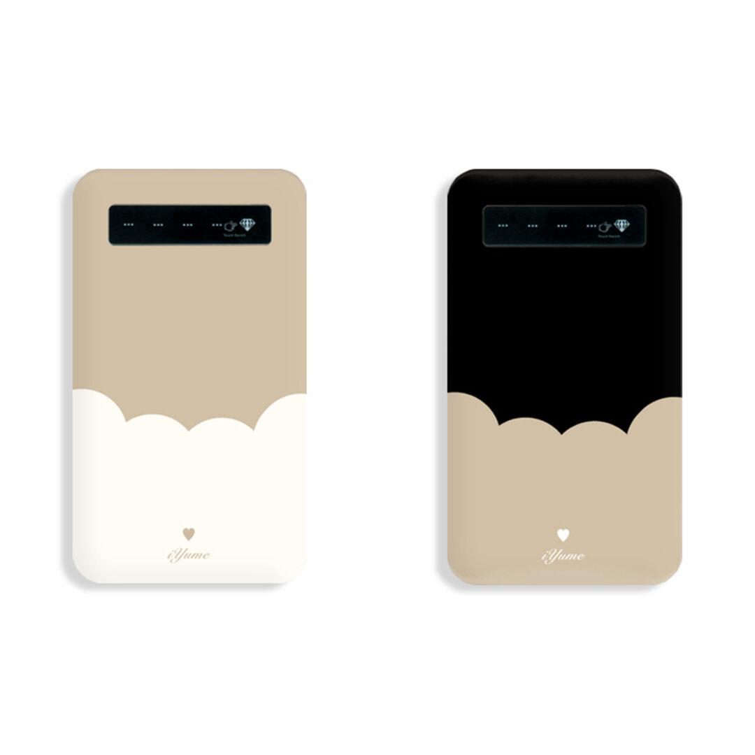 バイカラー*カフェ:モバイルバッテリー