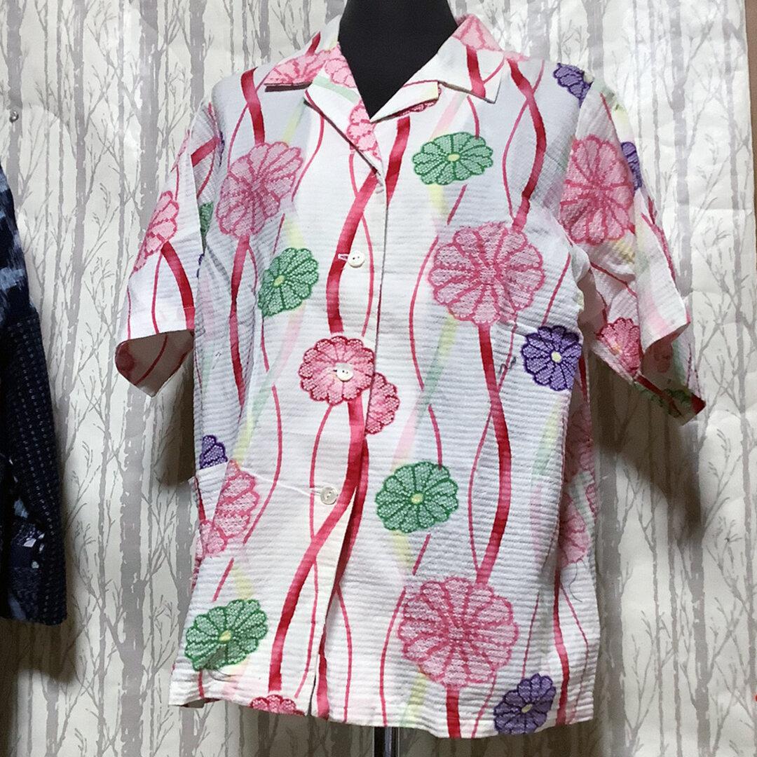 浴衣リメイク  アロハシャツ 7000→5000