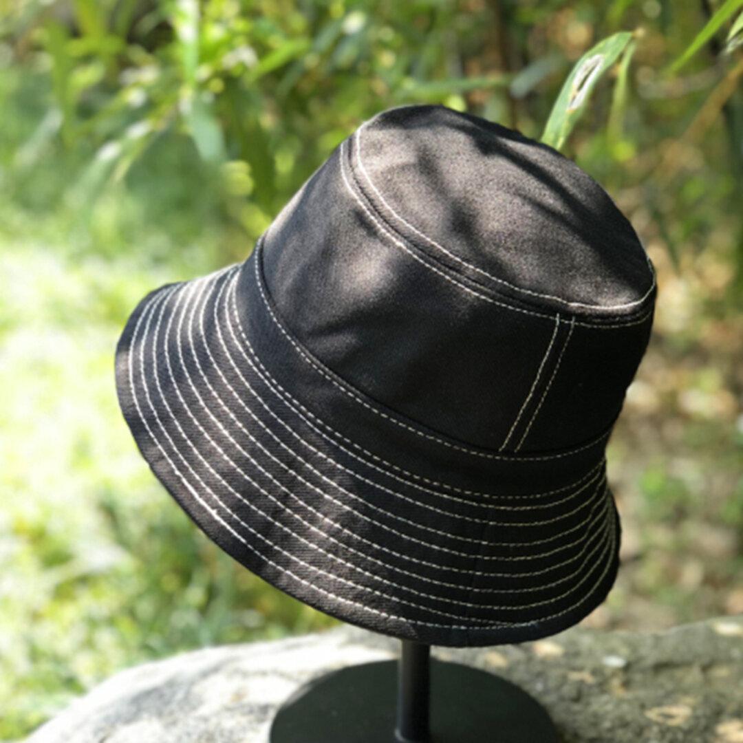 【新作】春夏  コットン 帽子 UVカット 日よけ つば広帽 ハット ナチュラル 敬老の日 日差し対策