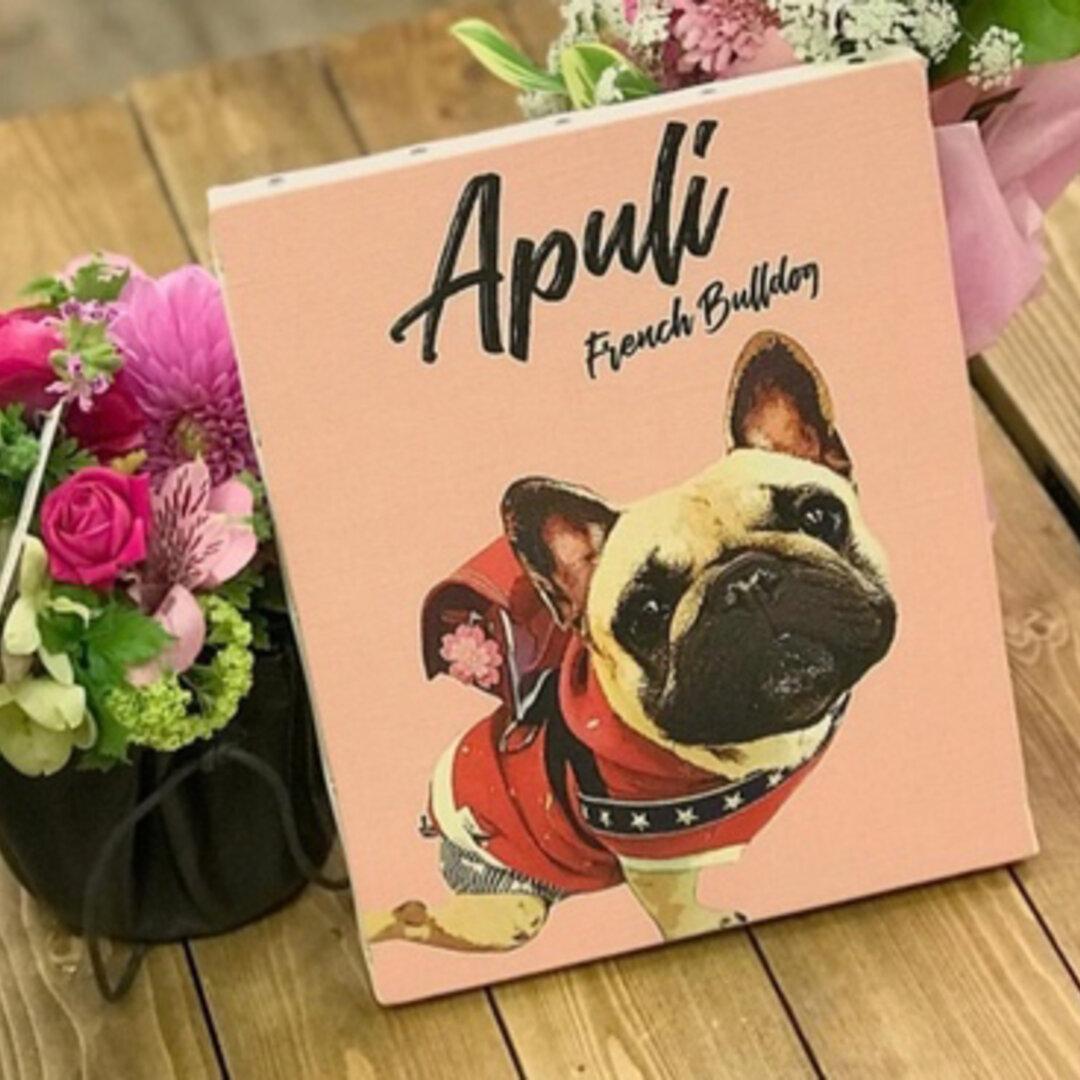 うちの子 アートポスター │犬 猫 ペット 水彩画 似顔絵