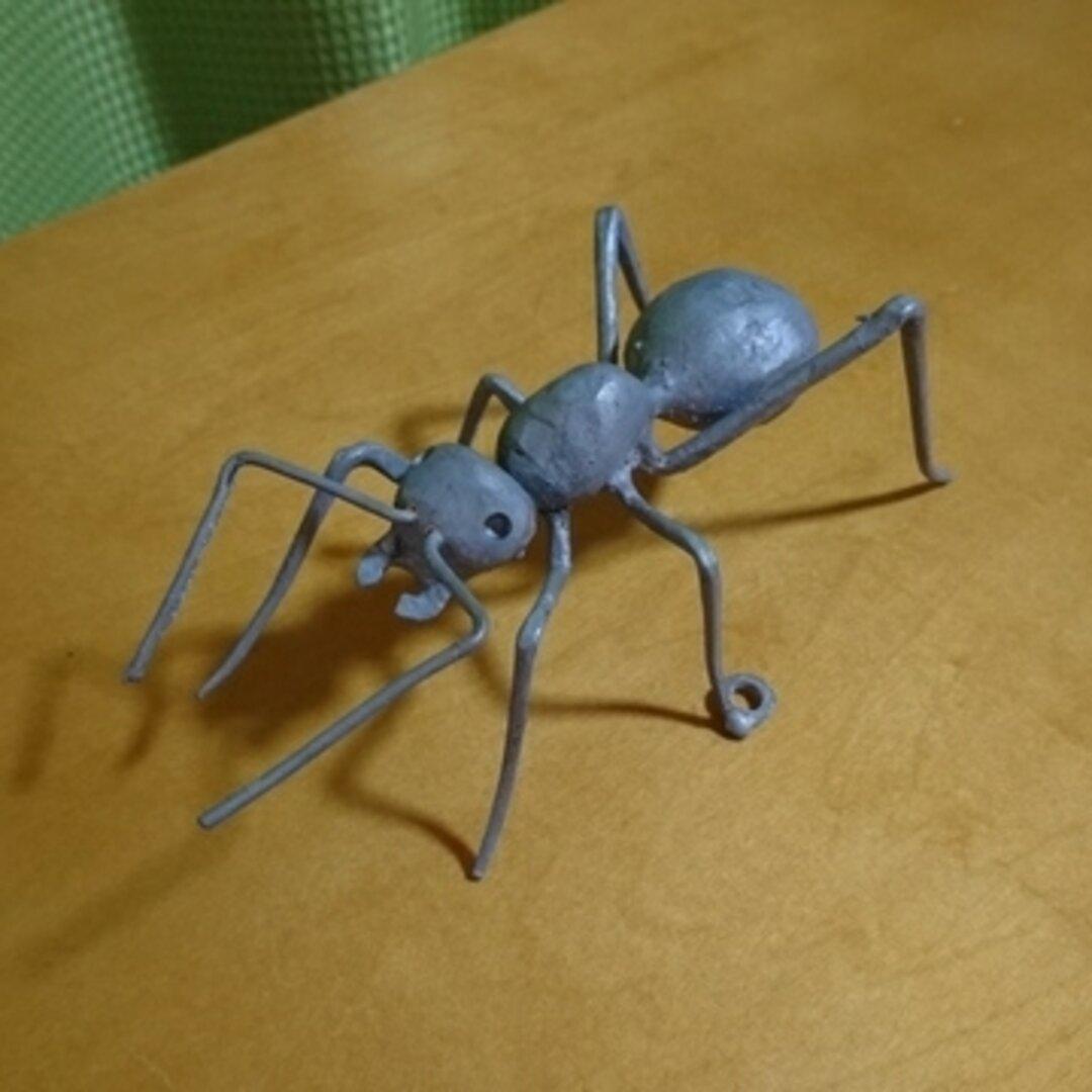 蟻/アイアンオブジェ/鉄/アンティーク/ガーデニング/ハンドメイド/置物/爬虫類