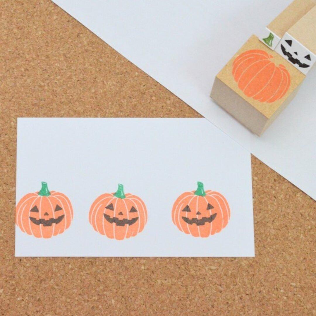 ハロウィン かぼちゃのはんこ ハロウィンはんこ