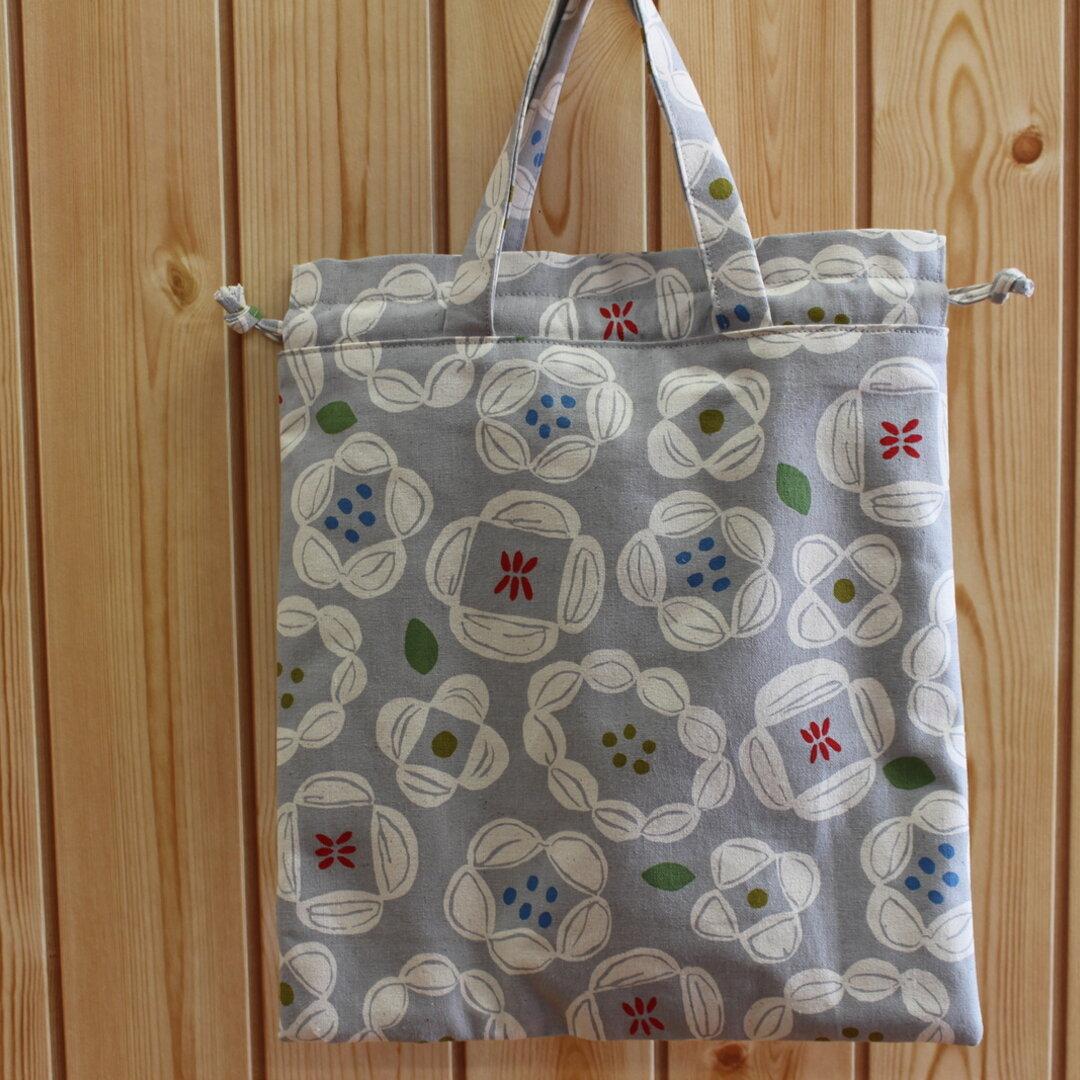 新商品 巾着バッグ ✿ 花柄 ✿ かわいい