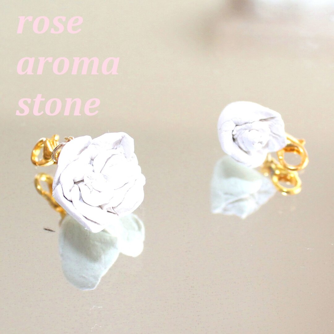 "rose aroma stone~ローズ アロマ ストーン~+""ruby ring""present"