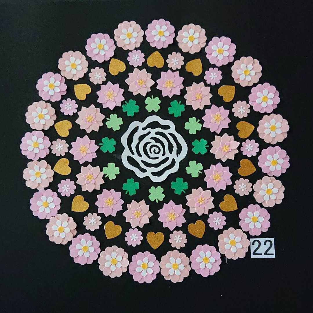 クラフトパンチ お花(22)