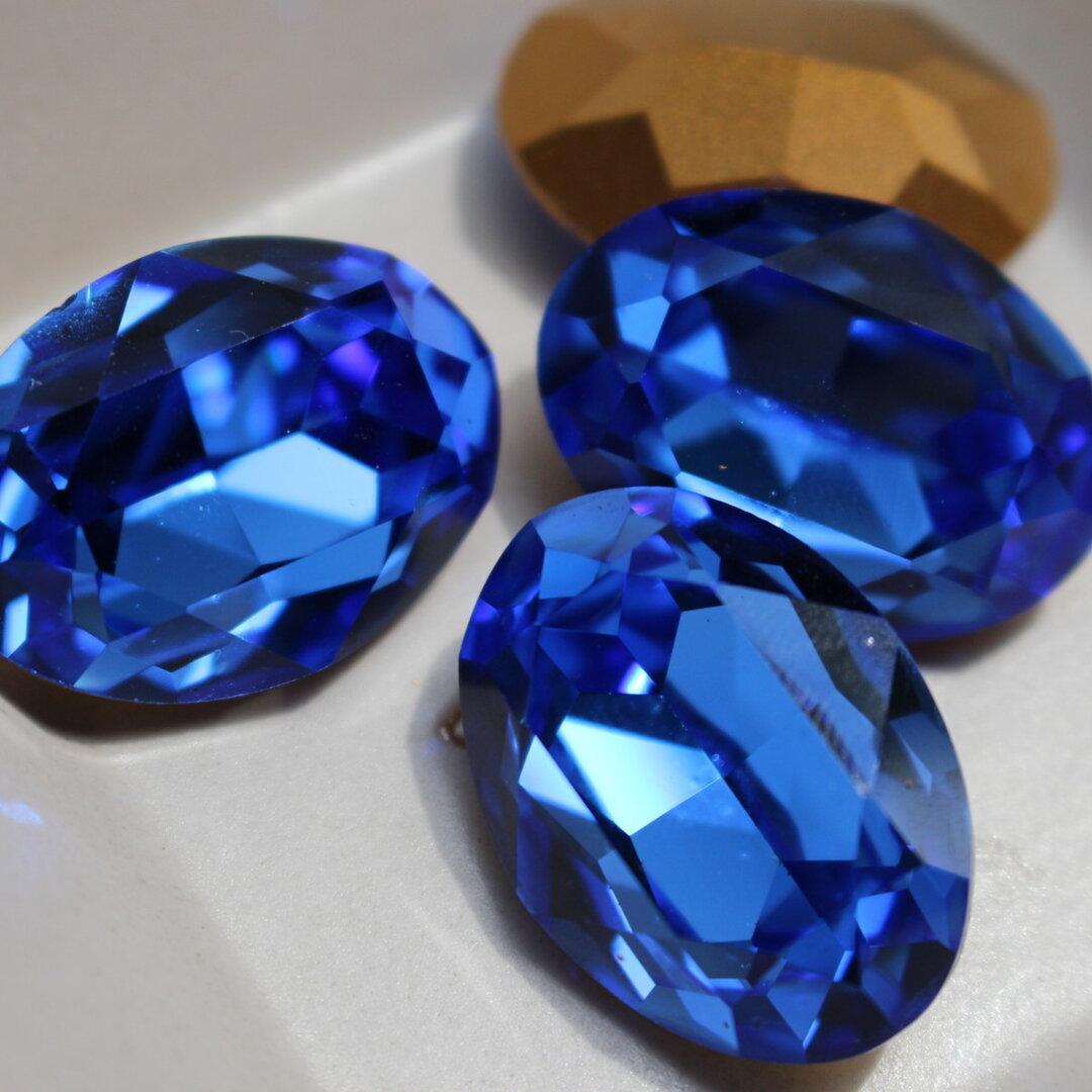 【1粒】スワロフスキー(Blue)