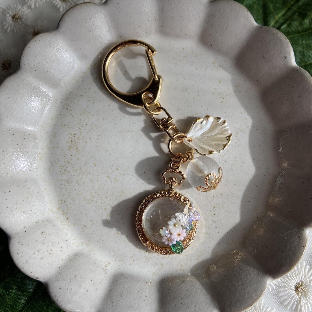 花の懐中時計
