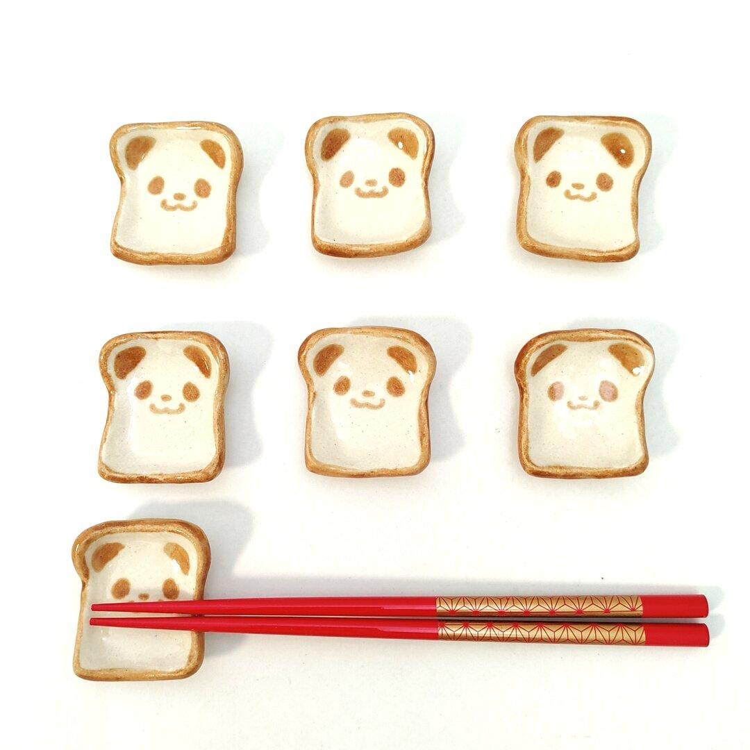 パンダの食パン 箸置き