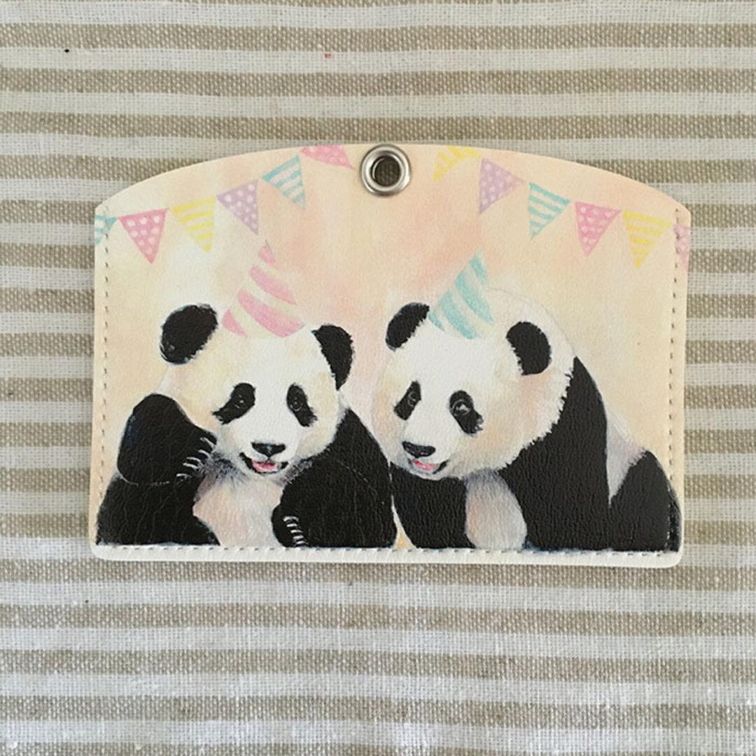 パスケース(Happy panda party)