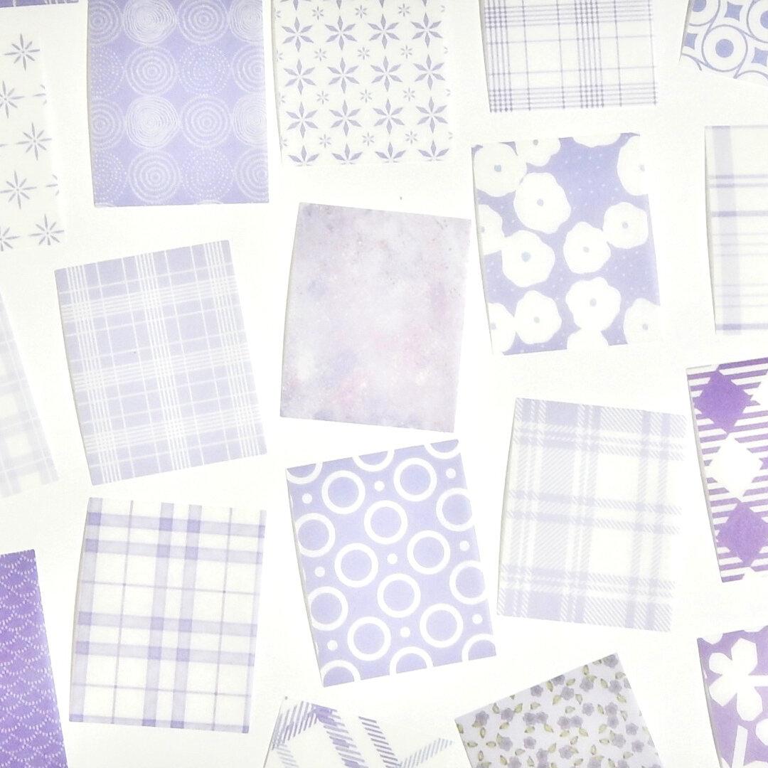 海外シール purple 40枚