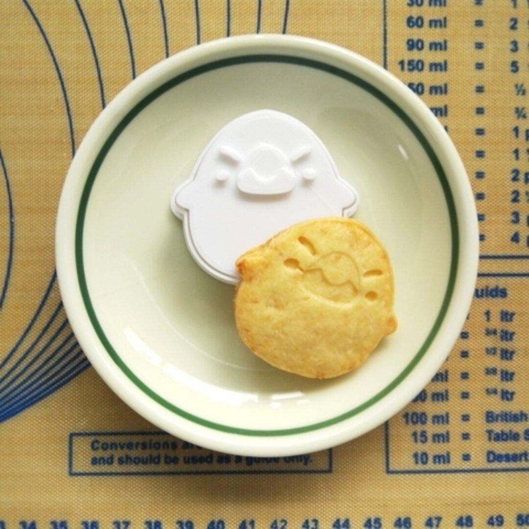 ぽっちゃり文鳥のクッキー型