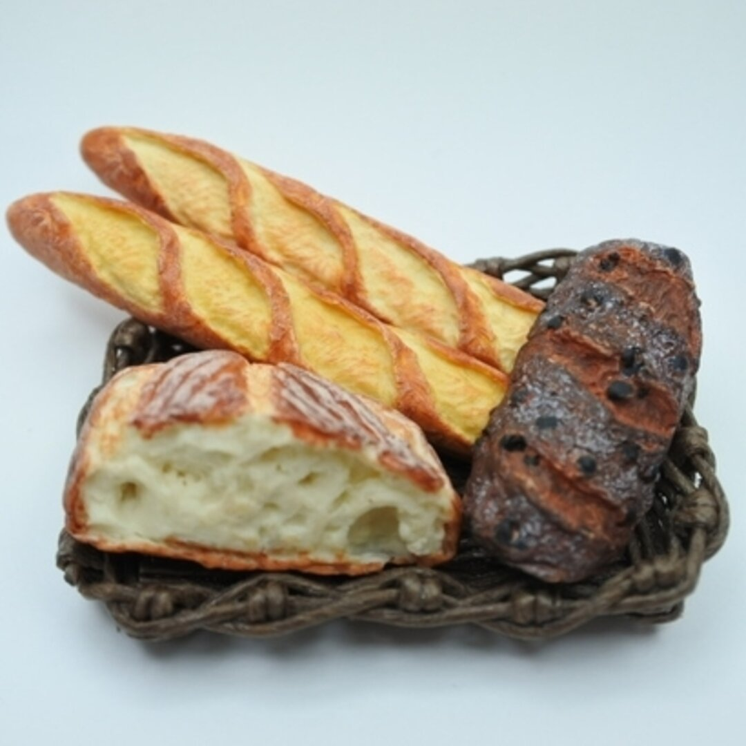 ミニチュアパン   セット                                          ミニチュア   ミニチュアフード  食品サンプル